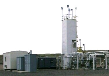 "Compact and reliable on-site plants are more cost-effective sources of gas for ""middle market"" users"