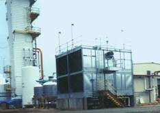 Aiir separation plant supplying on-site-produced oxyen and co-produced bulk liquid oxygen, nitrogen and argon.
